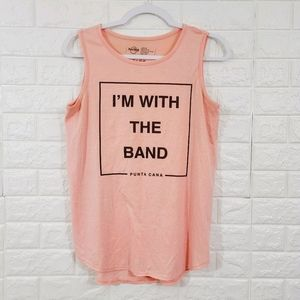 Hard Rock Dallas,I'm with the band top.Size M